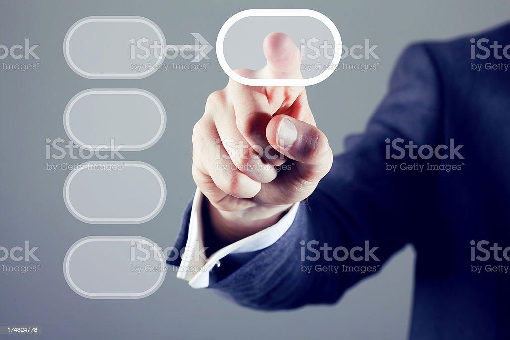 Touchscreen royalty-free stock photo