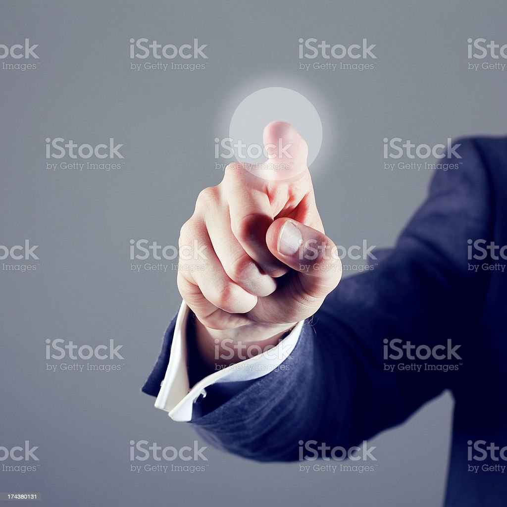 Touchscreen royalty-free stock photo