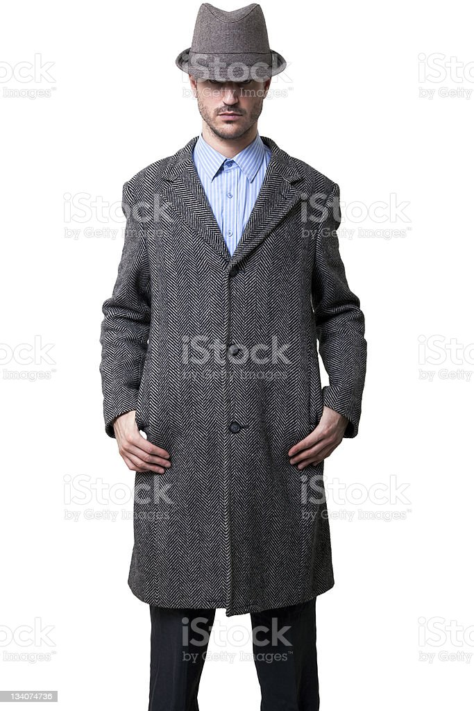 Tough and Mysterious royalty-free stock photo
