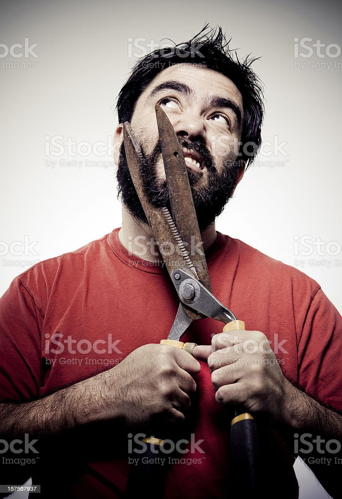 Tough Beard royalty-free stock photo