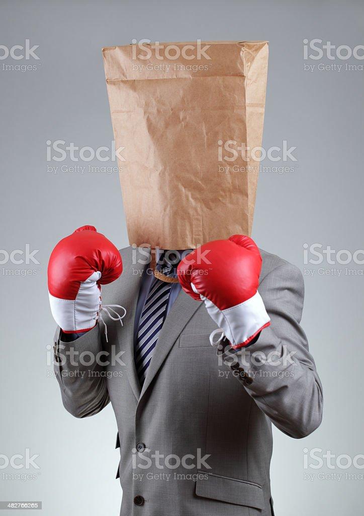 Tough business stock photo