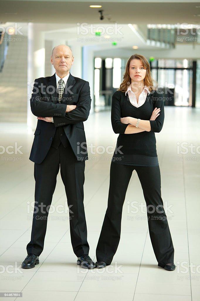 tough business team royalty-free stock photo