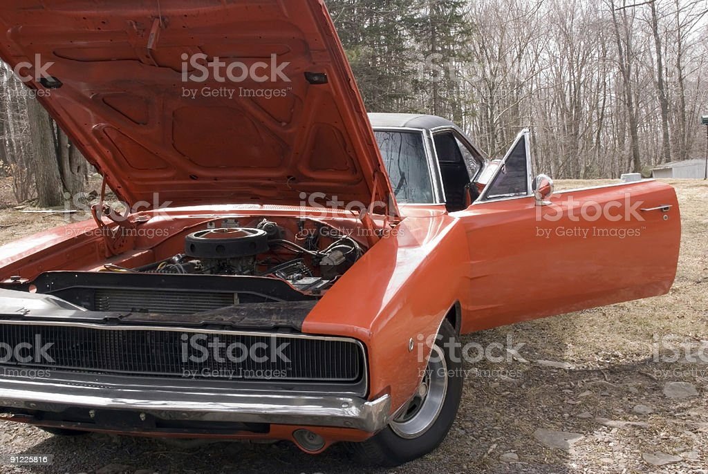 Tough Car stock photo