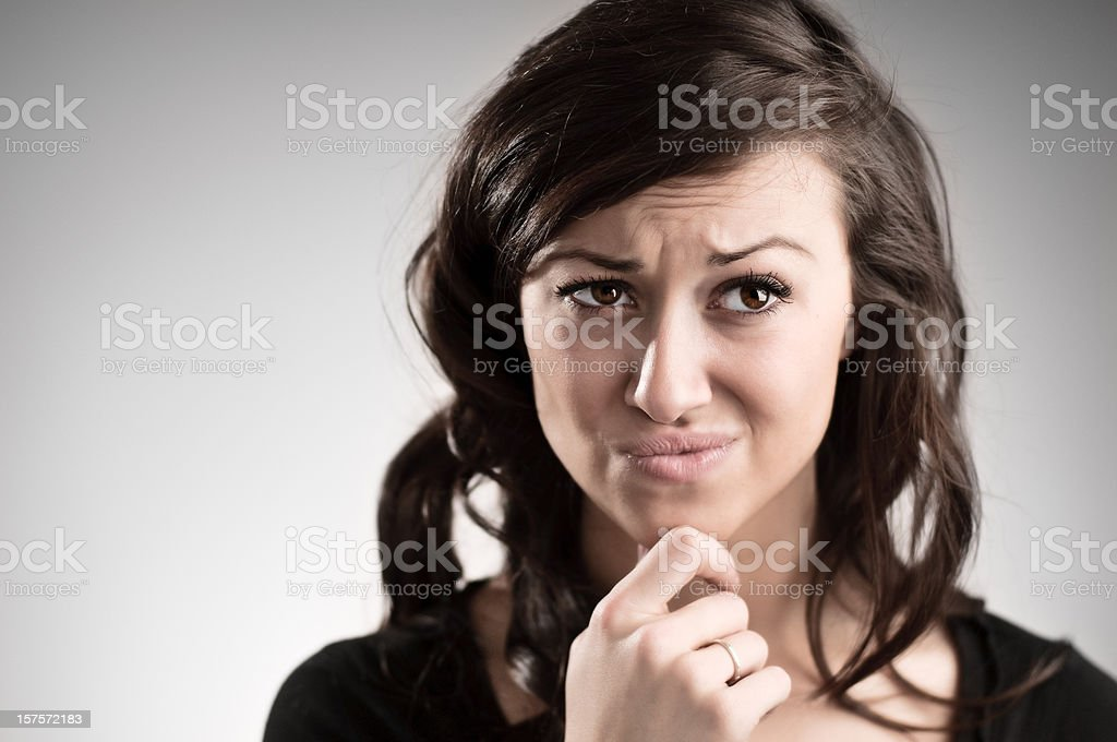 Tough Decision stock photo