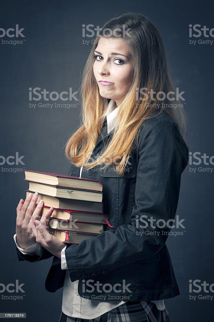 Tough education stock photo