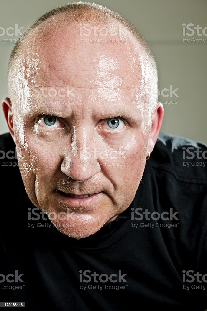 Tough Guy stock photo
