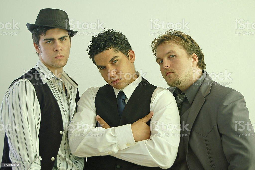 Tough Guys stock photo