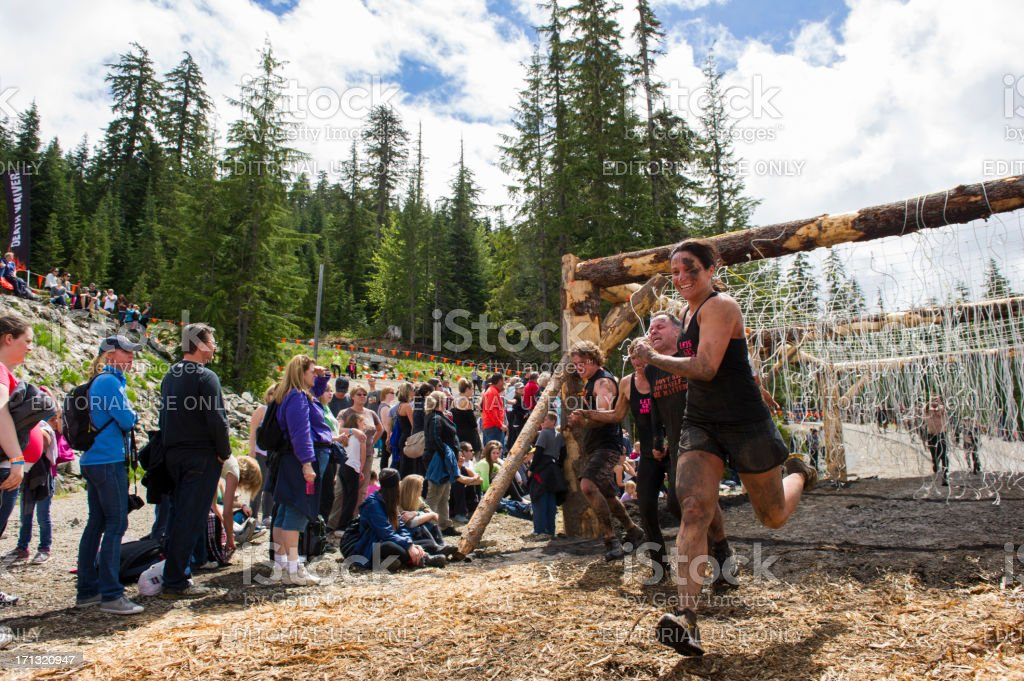 Tough Mudder royalty-free stock photo