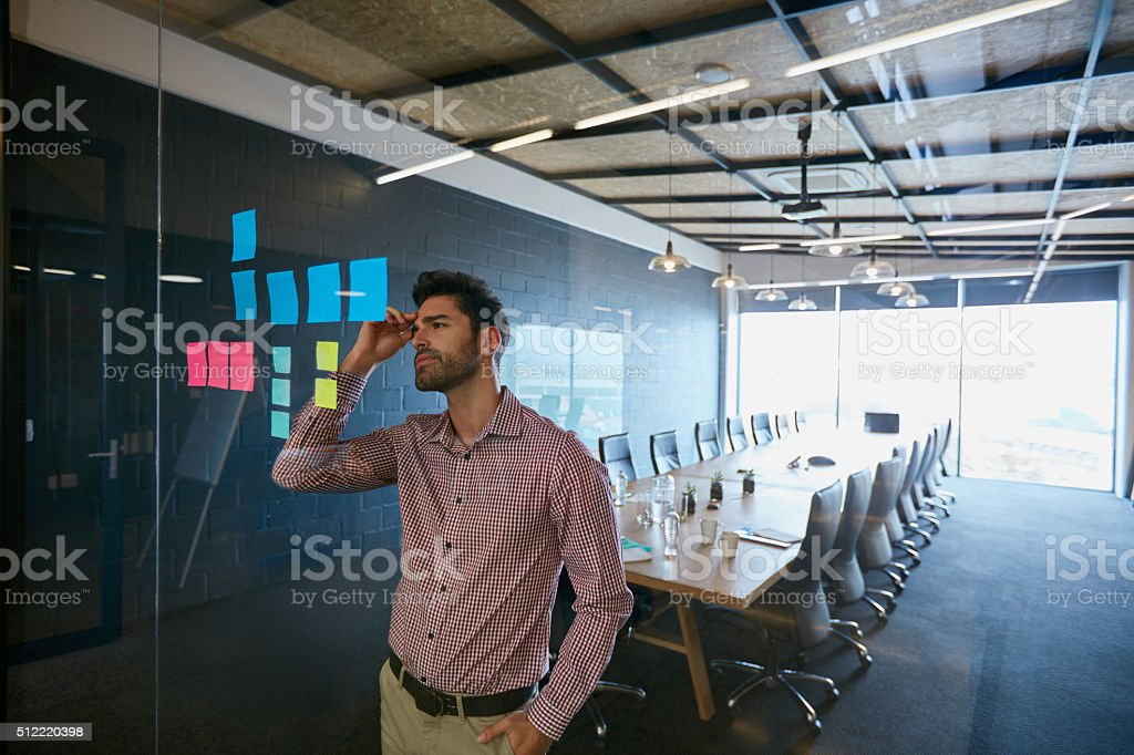 Tough times don't last, tough people do stock photo