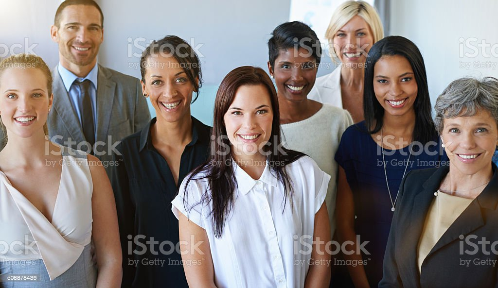Tough times don't last, tough teams do stock photo