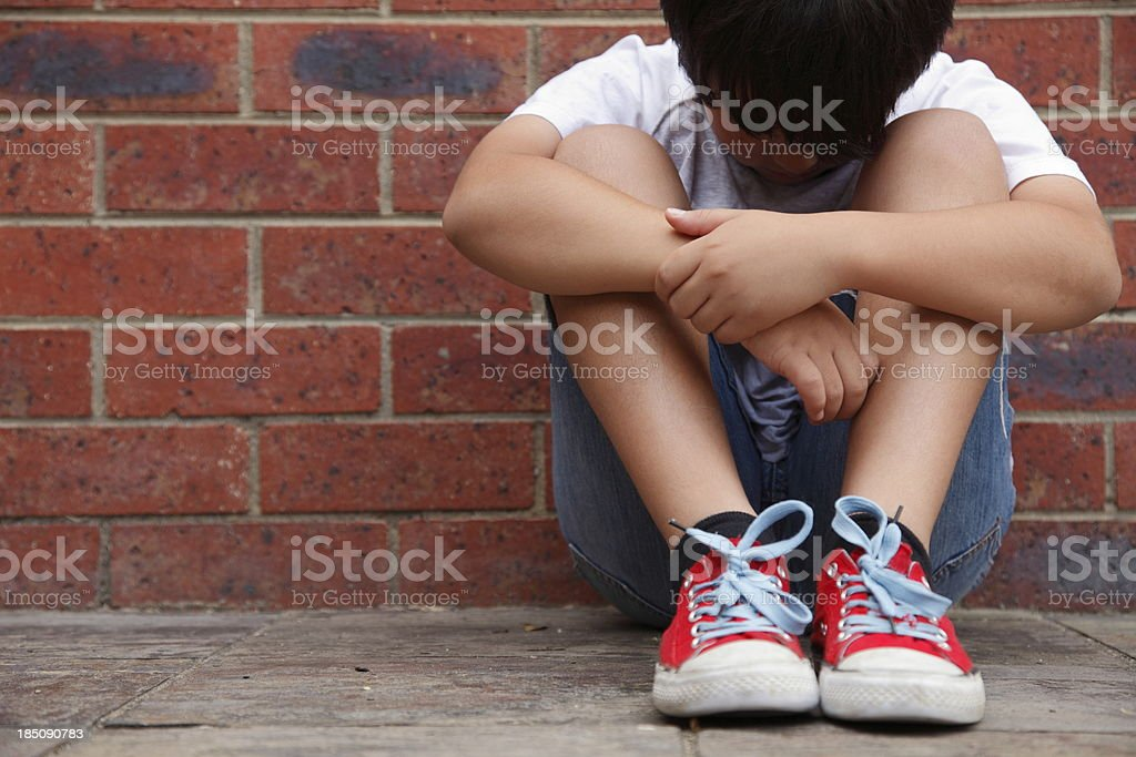 Tough Times stock photo