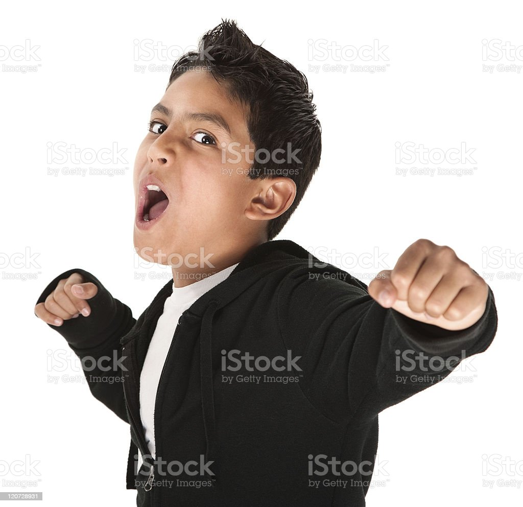 Tough Youngster stock photo