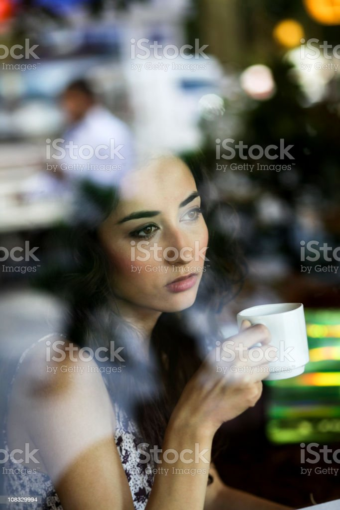Toughts and Distances royalty-free stock photo
