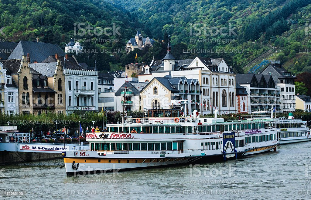 Tour Boat 'Goethe' stock photo