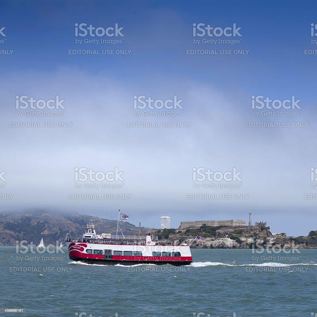 Tour boat royalty-free stock photo