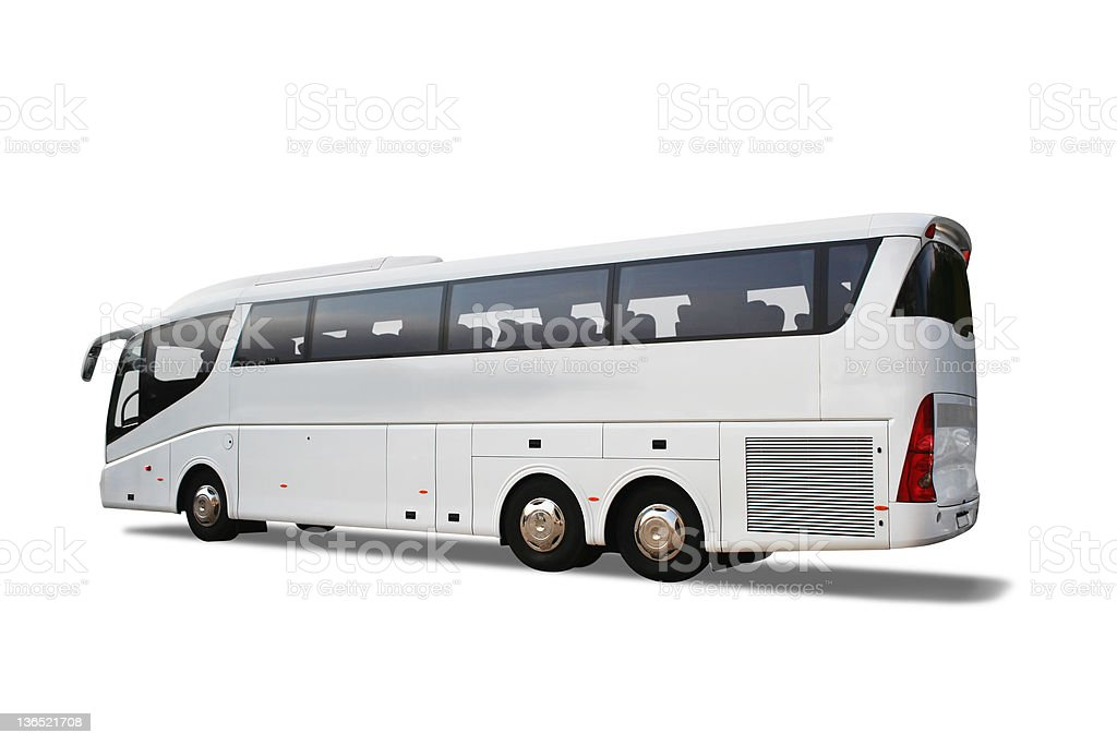 Tour bus royalty-free stock photo