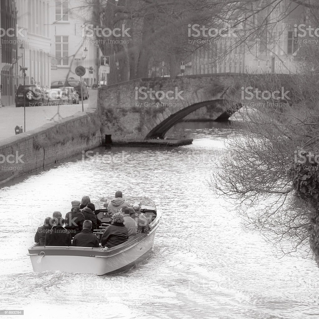 Tour by boat royalty-free stock photo