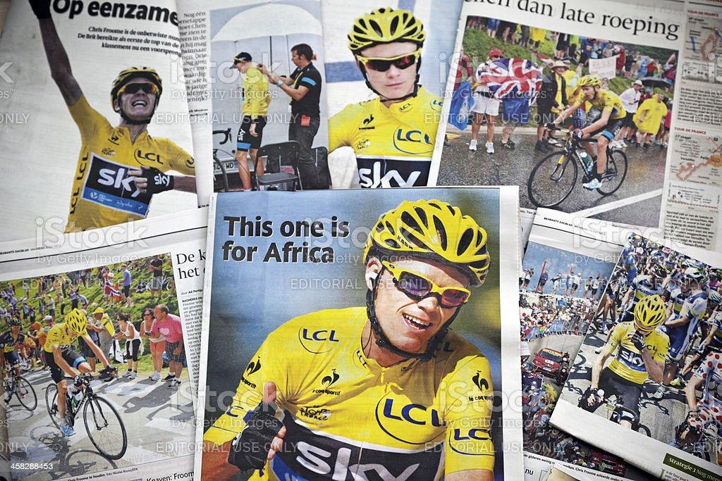 Tour de France 2013 # 1 XXXL royalty-free stock photo
