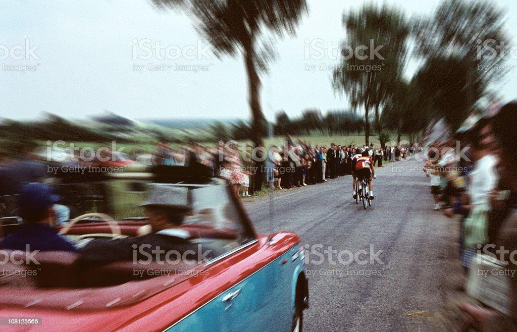 tour de france 50s/60s stock photo
