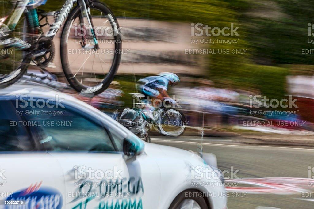 Tour de France Abstract stock photo