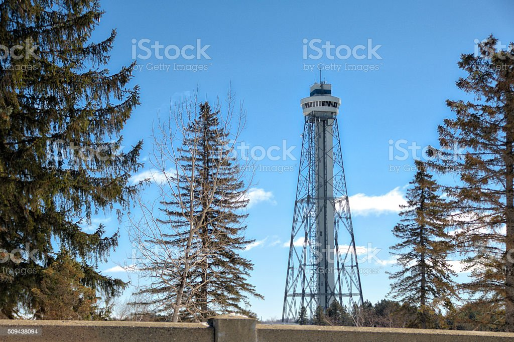 Tour de la citée de l'énergie stock photo