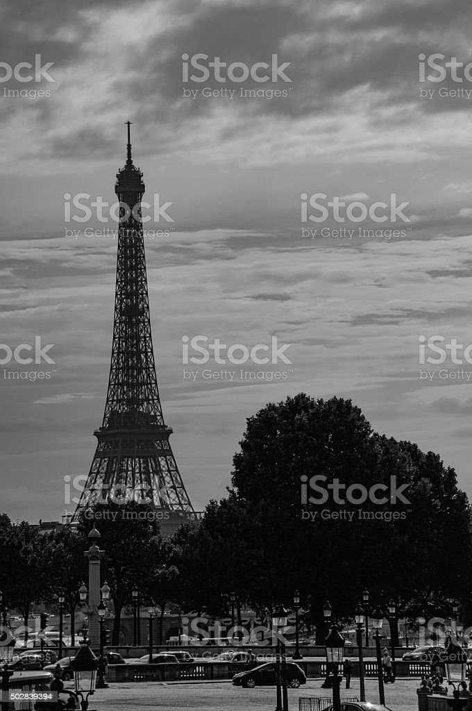 Tour Eiffel (Paris, France) stock photo