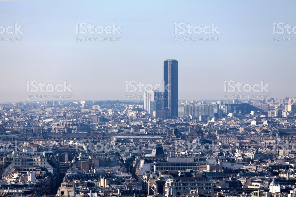 Tour Montparnasse in Paris stock photo