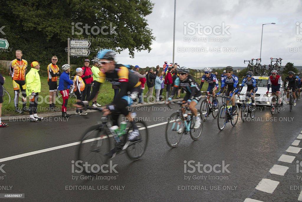 Tour of Britain 2013 stock photo