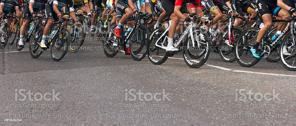 Tour of Britain stock photo