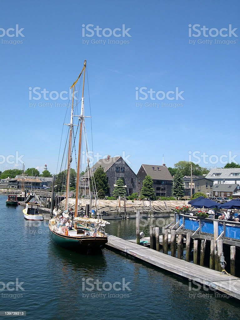 Tour Schooner stock photo