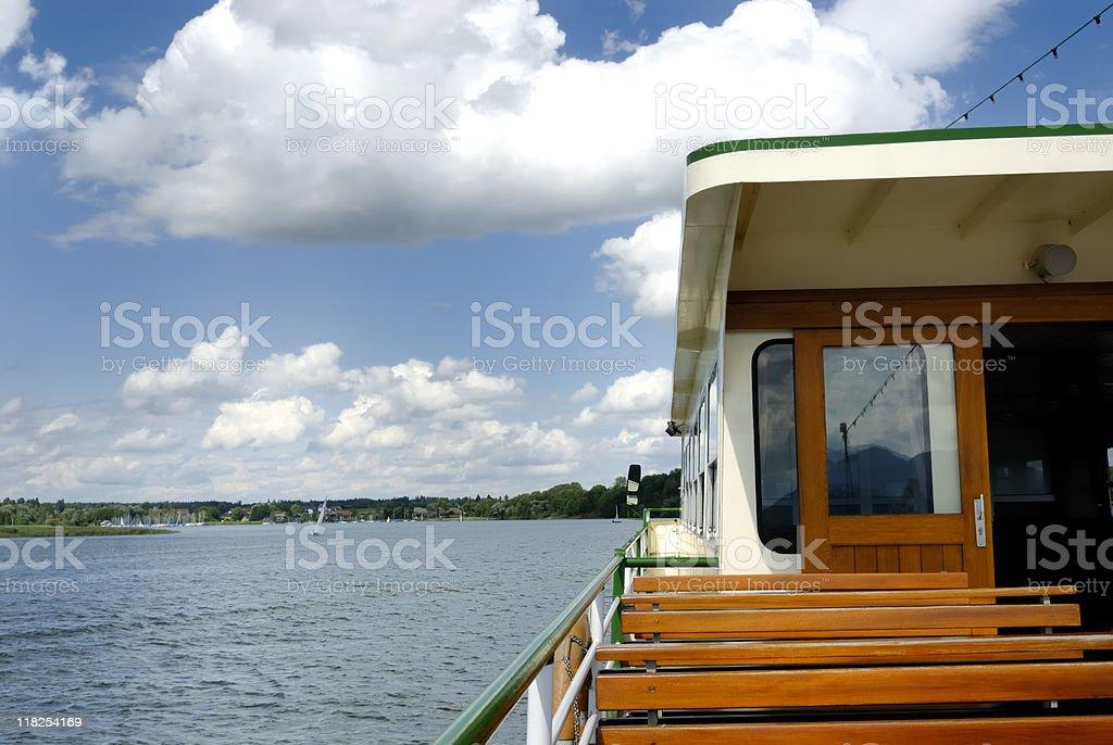 Tourboat stock photo