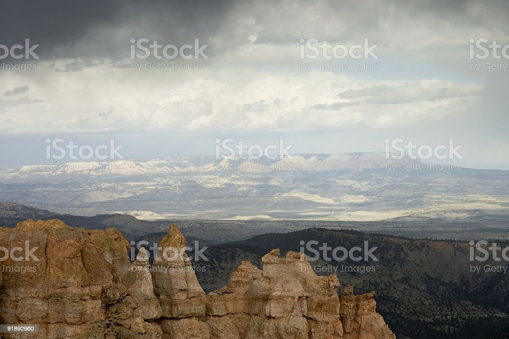 Touring Bryce Canyon 3 stock photo