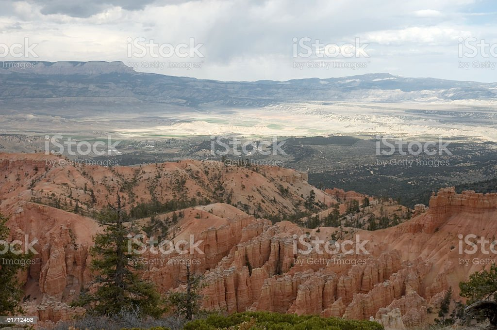 Touring Bryce Canyon stock photo