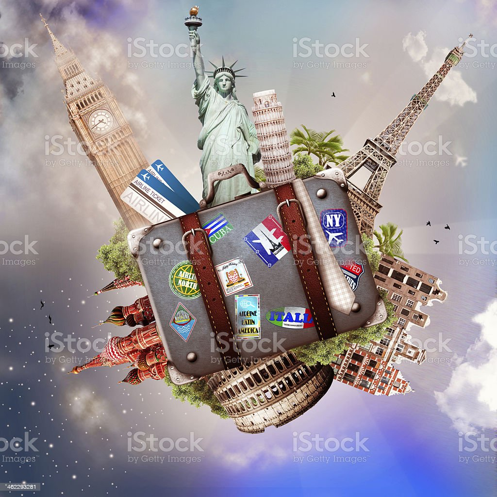 Tourism and travel stock photo