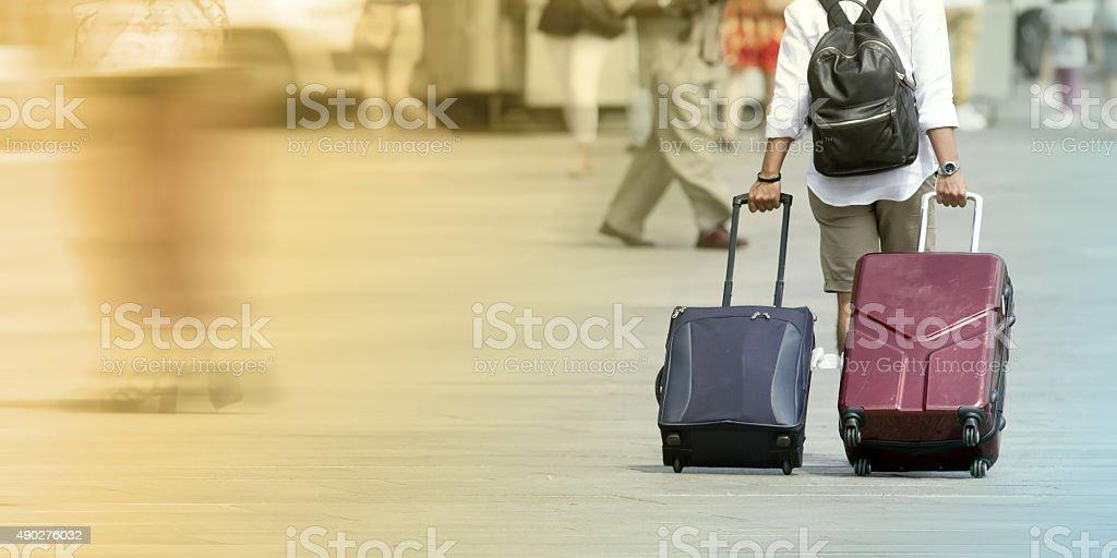 Tourism concepts stock photo