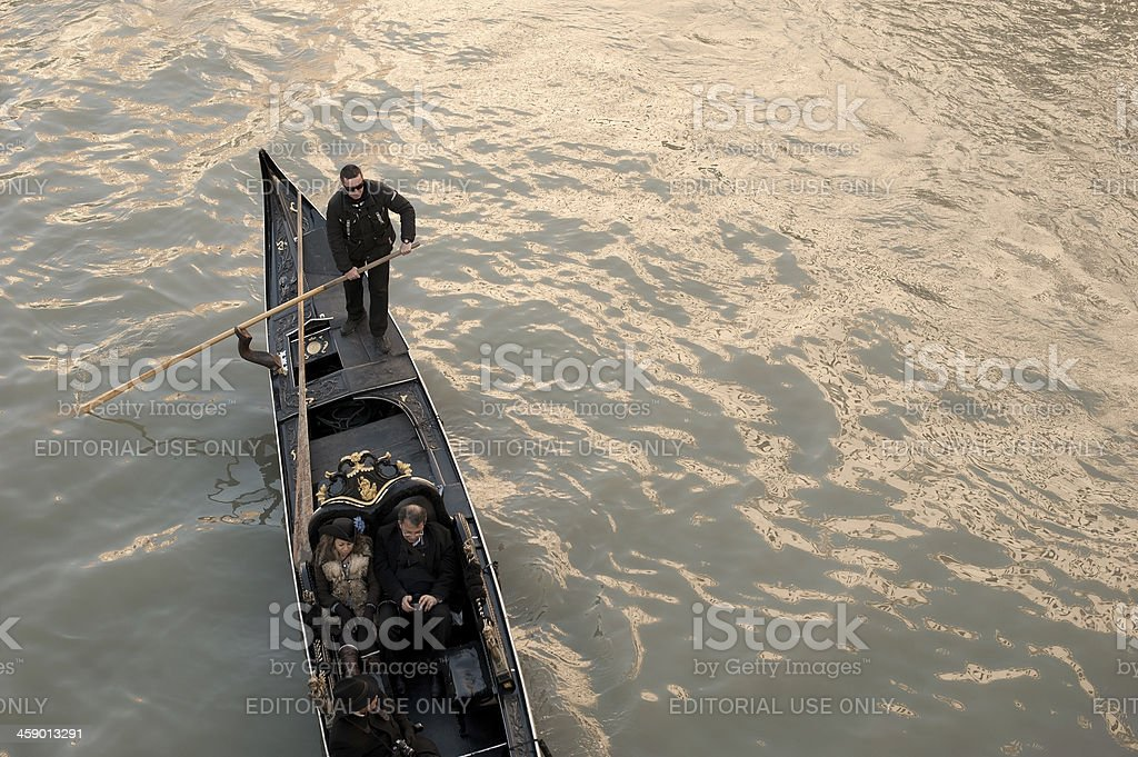 Tourism in Venice royalty-free stock photo