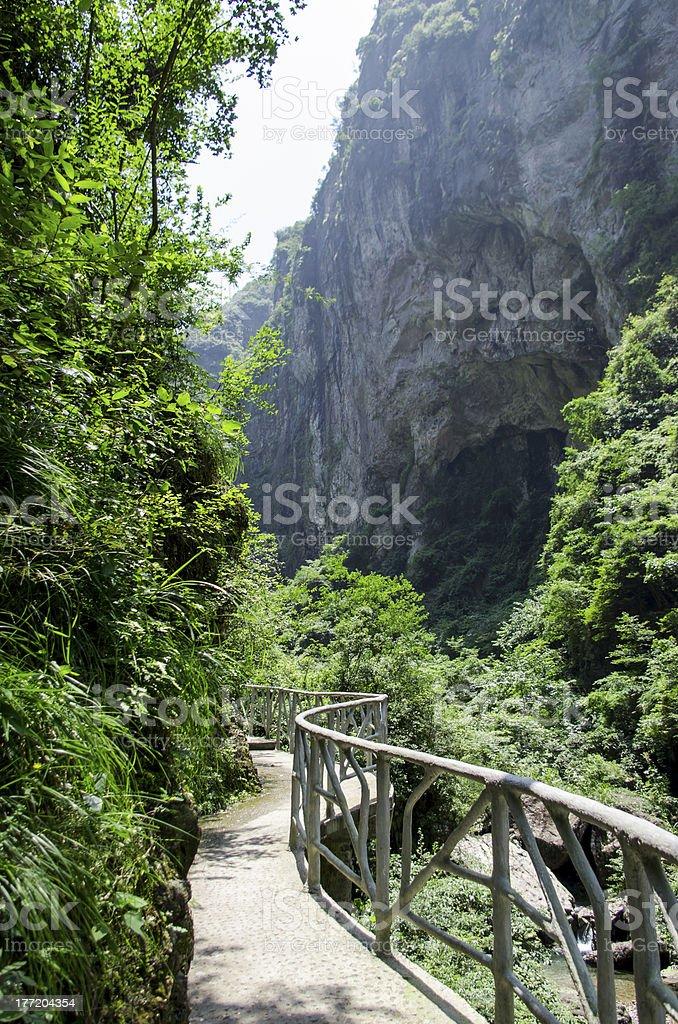 Tourism scenery royalty-free stock photo