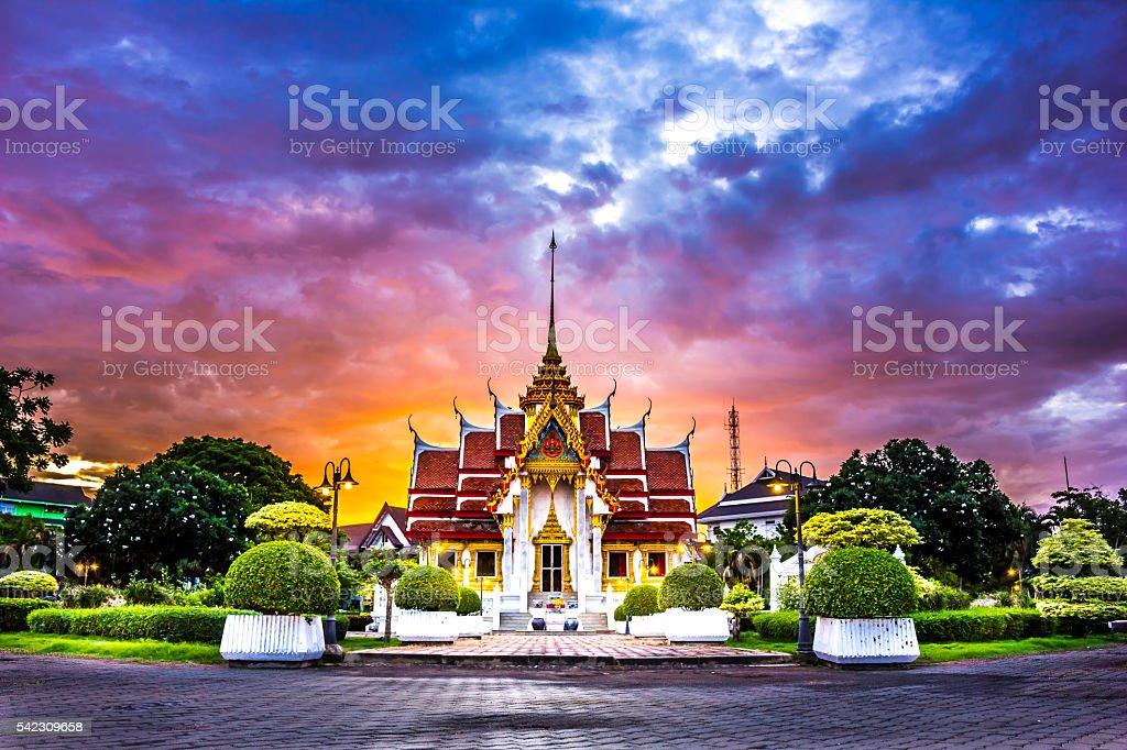 Tourist and leisure Buddhist stock photo