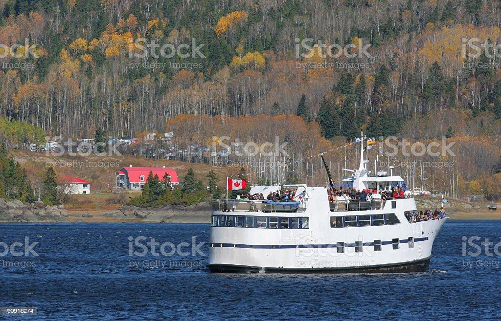 Tourist Boat stock photo