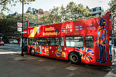 Tourist bus for city sightseeing