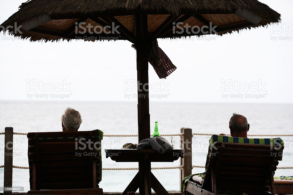 Tourist in Bali royalty-free stock photo