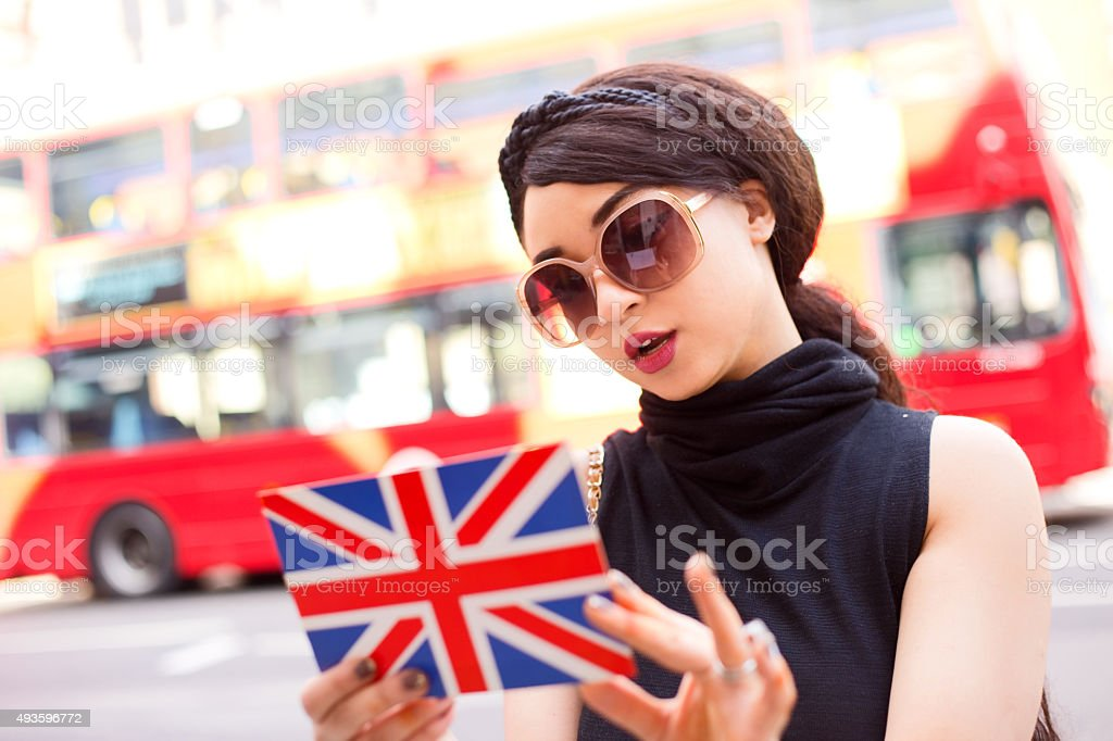 tourist in London royalty-free stock photo