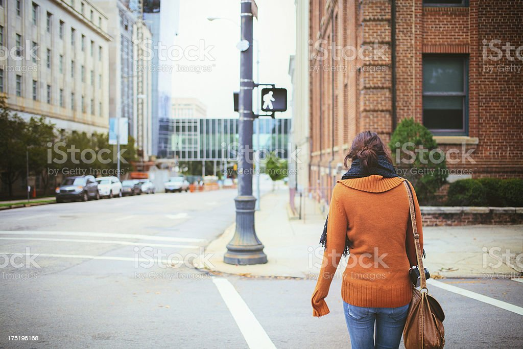 tourist in the city royalty-free stock photo