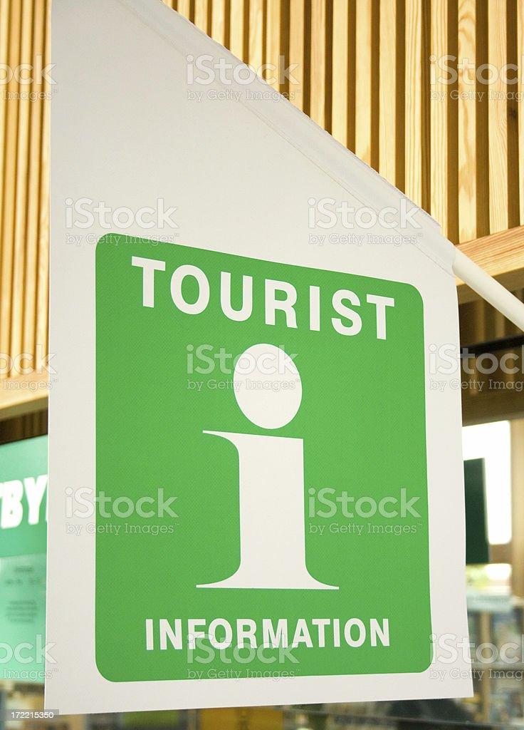 Tourist info flag royalty-free stock photo