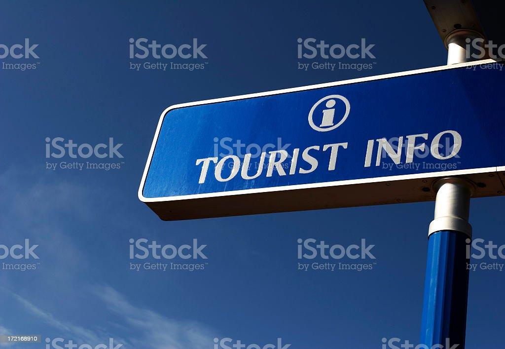 Tourist info royalty-free stock photo