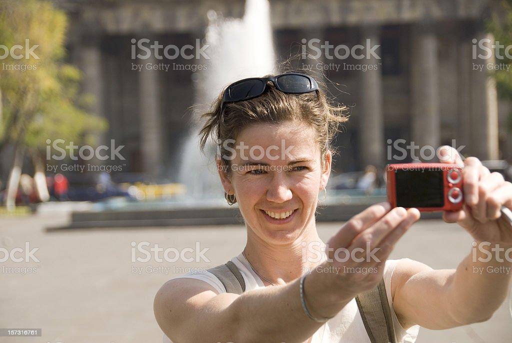 Tourist royalty-free stock photo