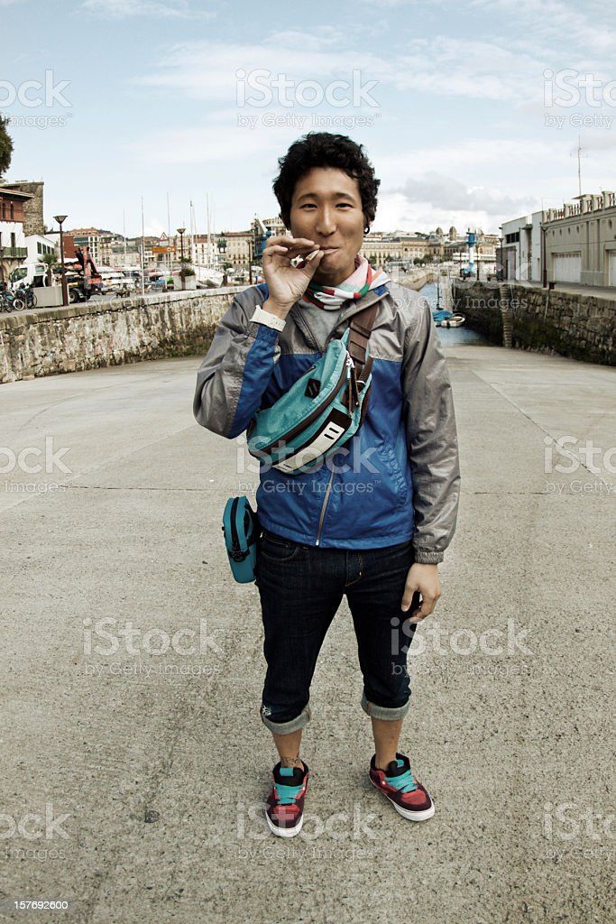 tourist stock photo