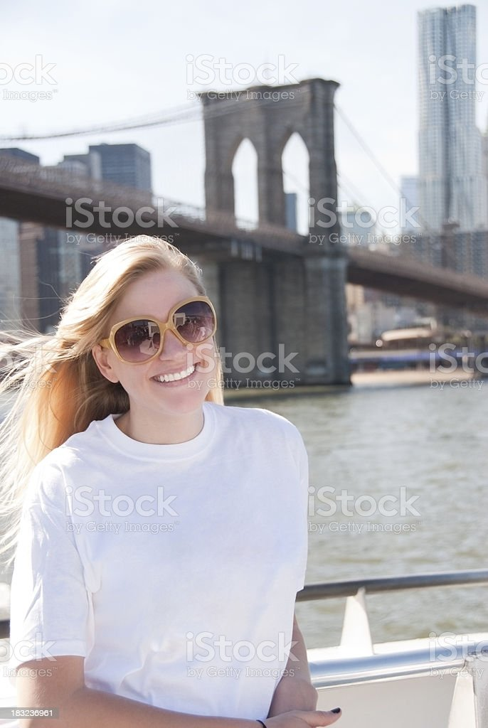 NYC Tourist royalty-free stock photo