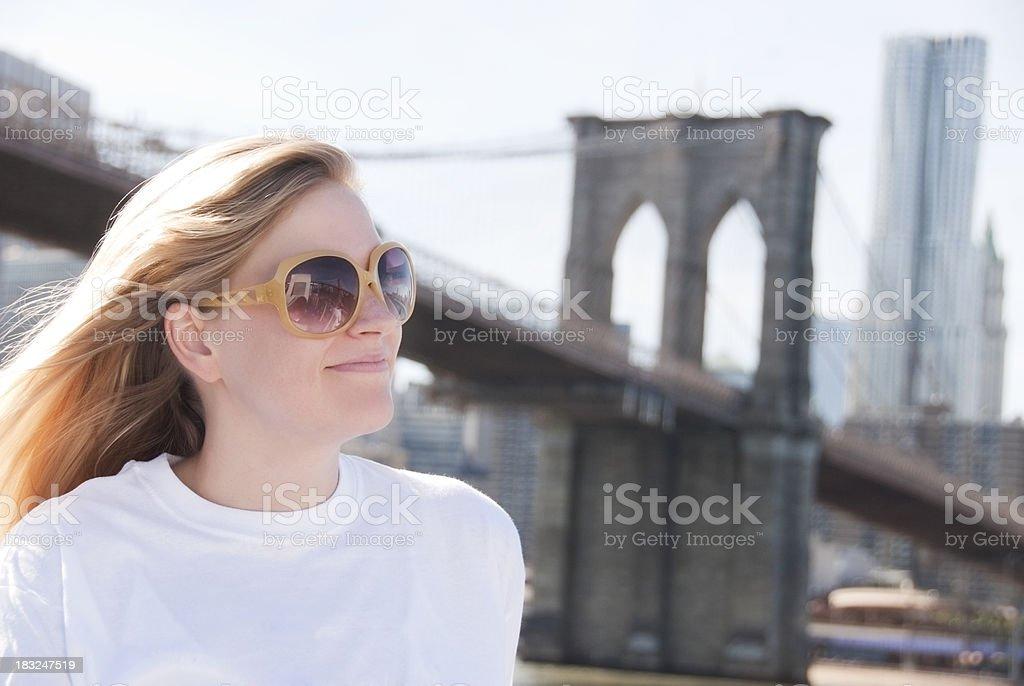 NYC Tourist royalty-free stock photo