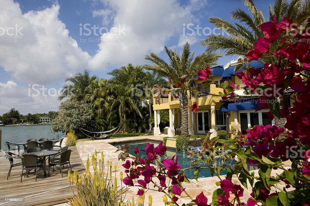 Tourist resort royalty-free stock photo